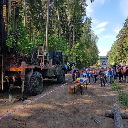 """Urbšanas un ģeoloģiskās izpētes darbus demonstrējam AS """"Latvijas valsts meži"""" rīkotajās Me"""